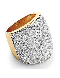 Multi-Cubic Zirconia Ring by PalmBeach Jewelry