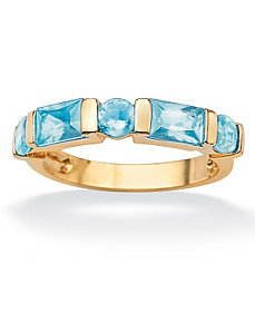 Channel-Set Birthstone Ring by PalmBeach Jewelry