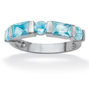 Channel-Set Birthstone Ring
