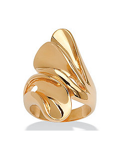 Bypass Fan Ring by PalmBeach Jewelry