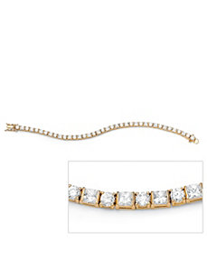 Round/Princess-Cut Tennis Bracelet by PalmBeach Jewelry