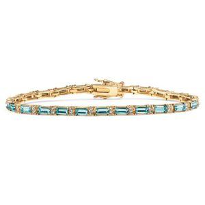 Birthstone Crystal Tennis Bracelet