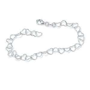 Heart-Link Ankle Bracelet
