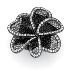 Multi-Crystal Flower Ring