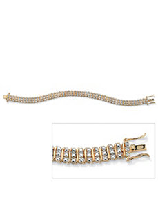 Diamond Accent Tennis Bracelet by PalmBeach Jewelry