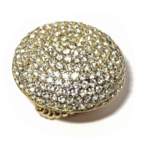 Crystal Dome Stretch Ring