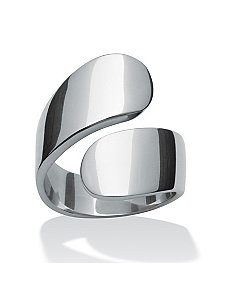 Bypass Ring by PalmBeach Jewelry