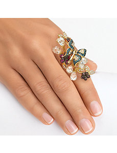Butterfly Ring by PalmBeach Jewelry