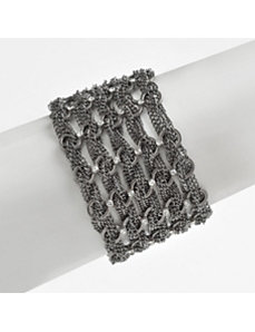 Multi-Chain Crystal Bracelet by PalmBeach Jewelry