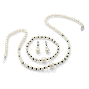Freshwater Pearl & Sapphire Set