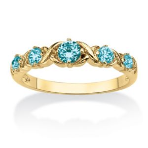 "Birthstone""X & O""Stack Ring"