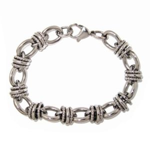 Oval and Round-Link Bracelet