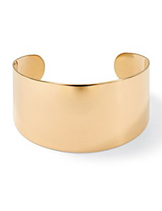 Wide Cuff Bracelet by PalmBeach Jewelry