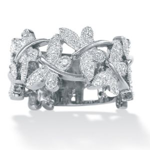 Diamond Accent Butterfly Band