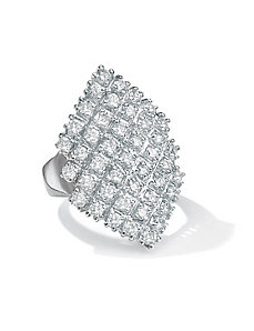 DiamonUltra™ Marquise Ring by PalmBeach Jewelry
