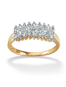 Diamond Peak Ring by PalmBeach Jewelry
