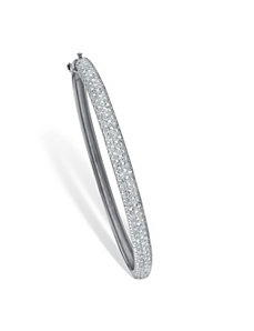 Diamond Bangle Bracelet by PalmBeach Jewelry