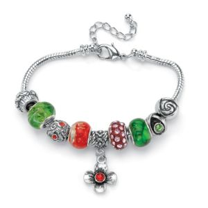 Multi-Colored Crystal Bracelet