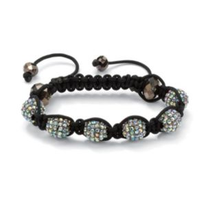 AB Crystal Ball Bracelet
