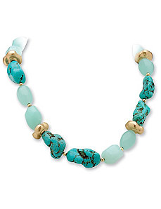 Viennese Turq. Necklace by PalmBeach Jewelry