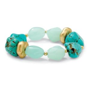 Viennese Turquoise Nugget Bracelet