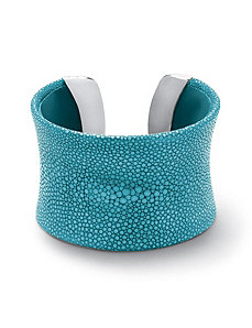Stingray Concave Cuff Bracelet by PalmBeach Jewelry