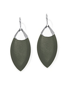 Stingray & Mother-of-Pearl Earrings by PalmBeach Jewelry