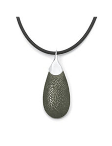 Pear-Shaped Stingray Pendant by PalmBeach Jewelry