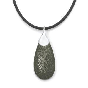 Pear-Shaped Stingray Pendant