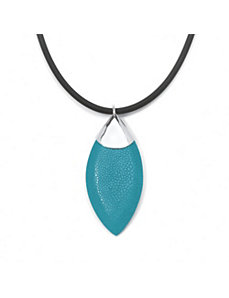 Marquise-Shaped Stingray Pendant by PalmBeach Jewelry