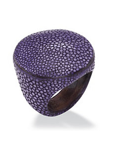 Circle-Shaped Stingray Ring by PalmBeach Jewelry