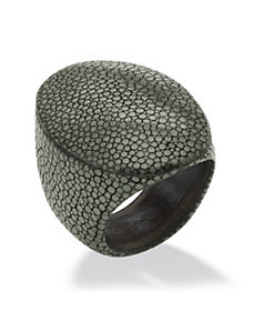 Oval-Shaped Stingray Ring by PalmBeach Jewelry