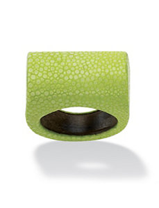 Rectangular-Shaped Stingray Ring by PalmBeach Jewelry