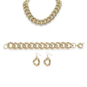 3-Piece Curb-Link Chain Set