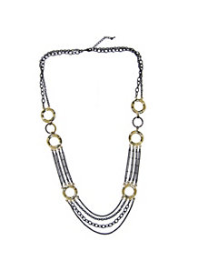 Tutone Multi-Chain by PalmBeach Jewelry