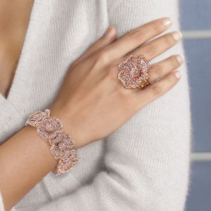Crystal Stretch Ring and Bracelet S