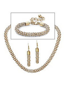 Crystal Jewelry Set by PalmBeach Jewelry