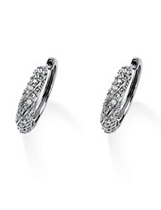 Diamond Earring by PalmBeach Jewelry