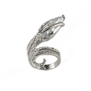 Cubic Zirconia Cocktail Ring