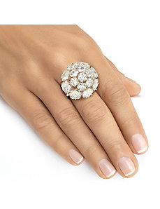 Cubic Zirconia Cocktail Ring by PalmBeach Jewelry