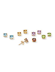 Semi-Precious Gemstone Earring Set by PalmBeach Jewelry
