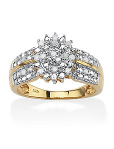 Ice Diamond Ring by PalmBeach Jewelry