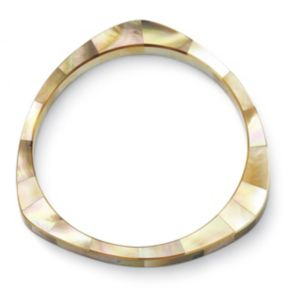 Mother-Of-Pearl Bangle Bracelet