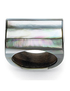 Mother-Of-Pearl Ring by PalmBeach Jewelry