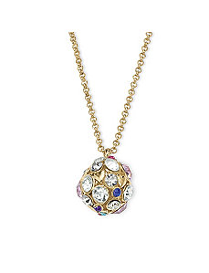 Crystal Drop Pendant by PalmBeach Jewelry