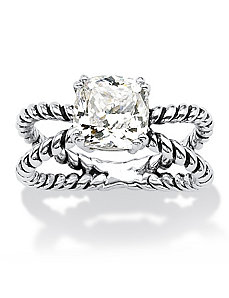 Cubic Zirconia Ring by PalmBeach Jewelry