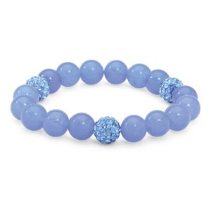Jade Birthstone Stretchy Bracelet