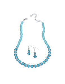 Beaded birthstone jewelry set by PalmBeach Jewelry