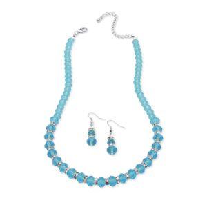 Beaded birthstone jewelry set