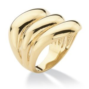 Triple-Row Band Ring